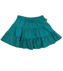Юбка для девочки бирюзовая Мини Макси 0169
