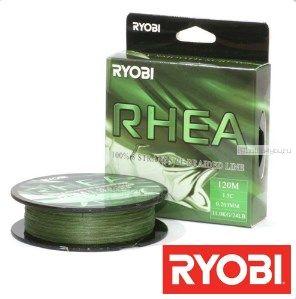 Купить Леска плетеная Ryobi PE Rhea 8x 120 м (темно-зеленый)