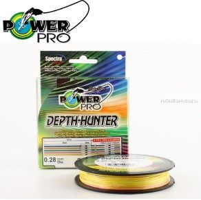 Леска плетёная Power Pro Depth Hunter Multicolor 150 м
