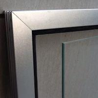Дверь для хамама SD-8L (8мм) 186х78,5 леваяДверь для хаммама Aquaviva 1890х690 (8мм) нерж. сталь