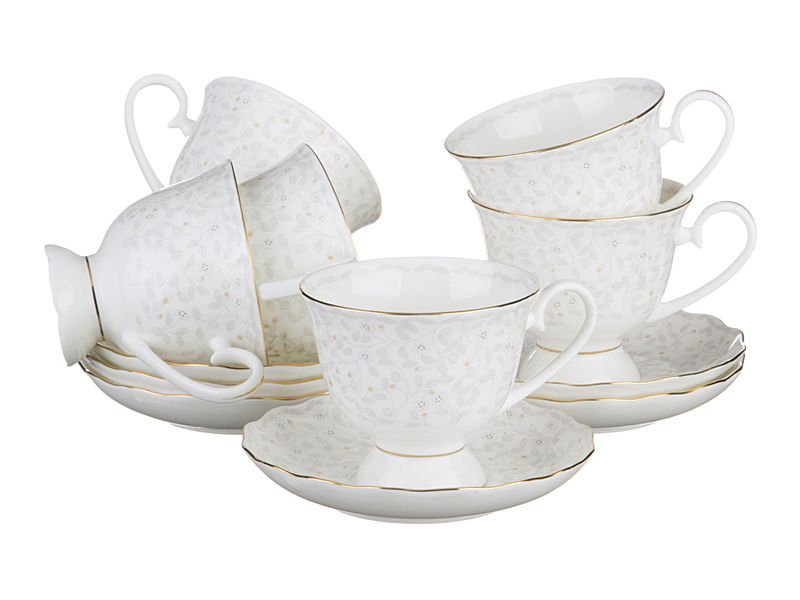 "Чайный набор на 6 персон ""Вивьен"", 12 пр., 350 мл"