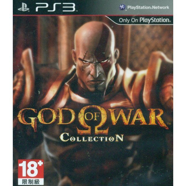 Игра God of War Collection (PS3)