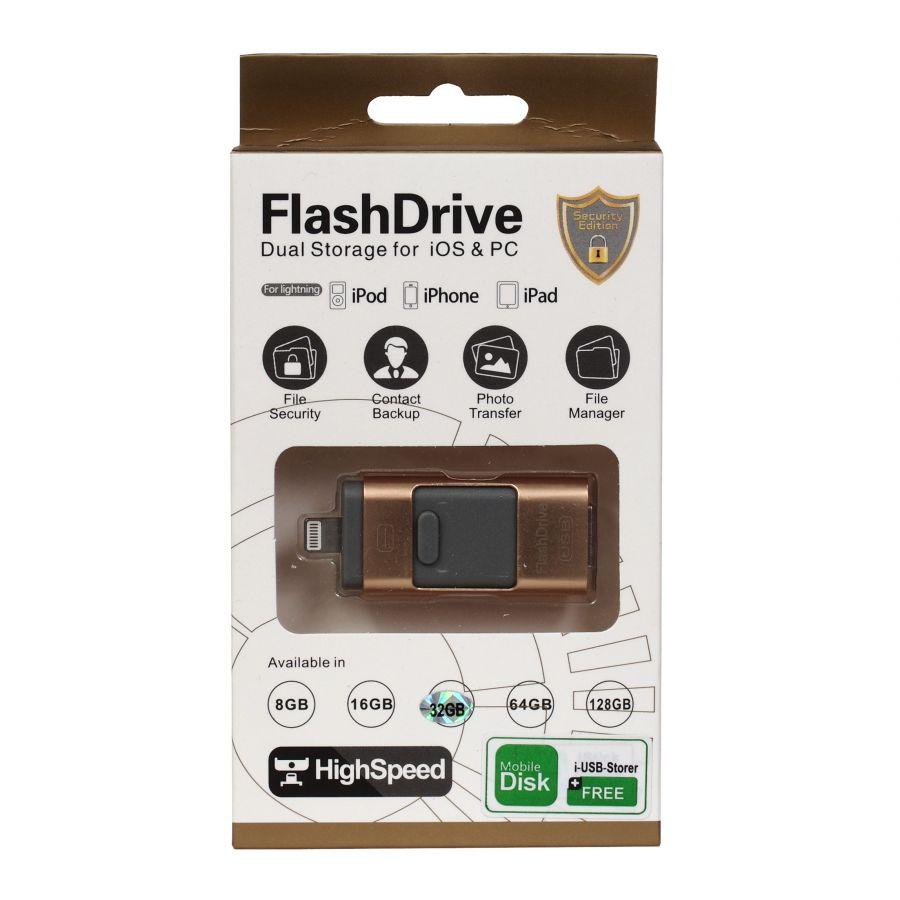 USB накопитель Флешка на iphone 5/5S/5C 16 ГБ