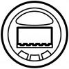 Накладка датчика движения с кнопками Legrand Celiane сл. кость(арт.66254)
