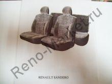 Чехлы автомобильные Sandero сплошное зад. сиденье