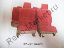 Чехлы автомобильные Megane II сплошное зад. сиденье