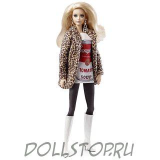 Коллекционная кукла Барби Энди Уорхол - Andy Warhol Barbie Doll 2016