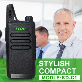 WLN KD-C1 маленькая UHF рация