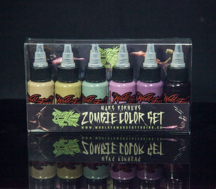 World Famous MAKS KORNEV'S ZOMBIE COLOR SET