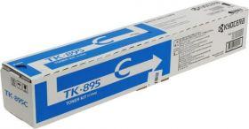 Тонер-картридж оригинальный Kyocera TK-895C Cyan