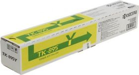 Тонер-картридж оригинальный Kyocera TK-895Y Yellow