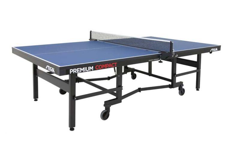 Теннисный стол профессиональный  Stiga Premium Compact, ITTF (25 мм) 7197-00