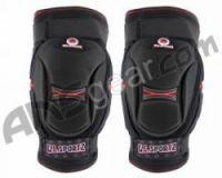 Наколенники GI Sportz - Black/Red