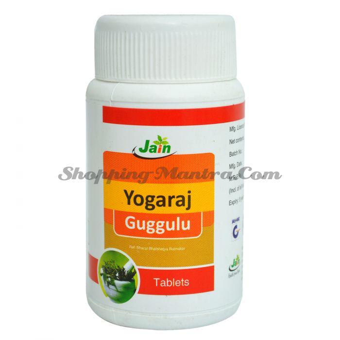 Йогарадж Гуггул для суставов и костей Джайн Аюрведик | Jain Ayurvedic Yograj Guggul