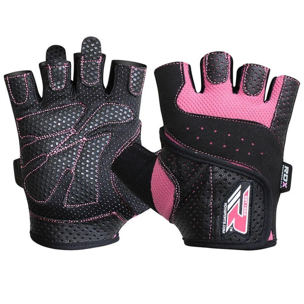 Женские перчатки для фитнеса RDX S5 PRO