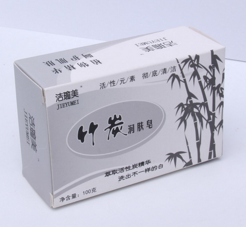 Очищающее натуральное черное угольное мыло для умывания 100гр