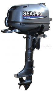 Подвесной лодочный мотор 4-х тактный SEA-PRO F4S  4 л.с. / 25 кг.