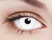 """Линза """"Белый глаз"""""""