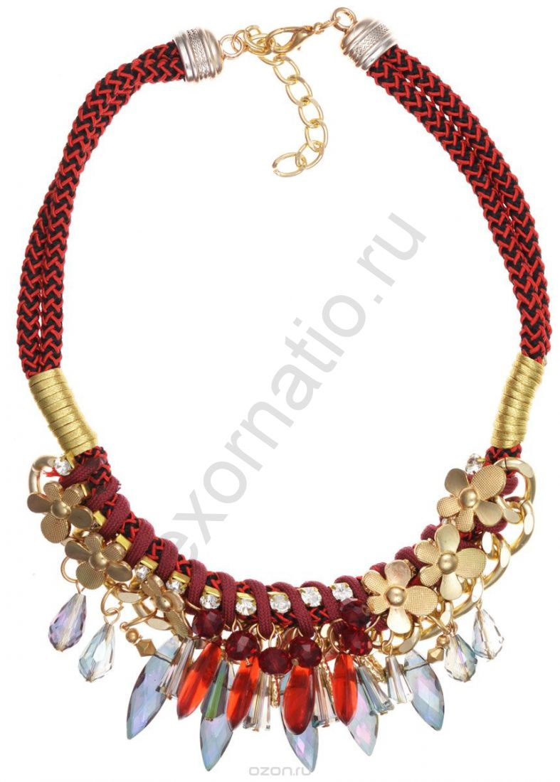 Колье Taya LX. T-B-8989-NECK-RED