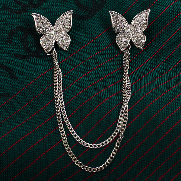 "Брошь Fashion Jewelry. Брошь ""Бабочки"""