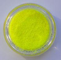 Меланж (втирка) неоновая желтая Neon #1, 1 грамм (0,2 мм)