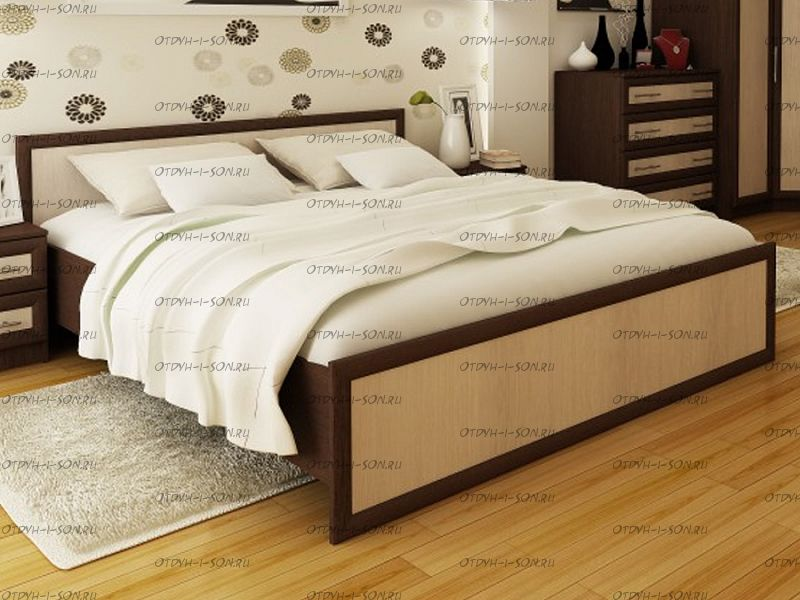Кровать Модерн с настилом BTS