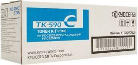 TK-590C Тонер-картридж оригинальный Kyocera  голубой