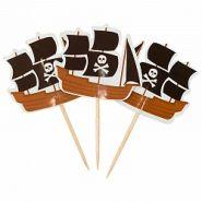 Пики для канапе Пираты, 20 шт