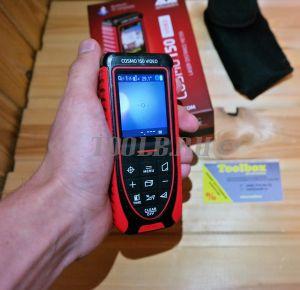ADA COSMO 150 Video - лазерная рулетка с цифровым визиром