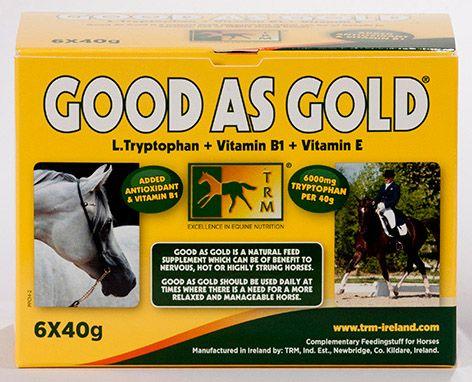 Good As Gold. TRM. Успокоительная добавка с триптофаном и витаминами. 40 гр и 500 гр