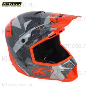 Шлем Klim F3 Cross Gray Camo