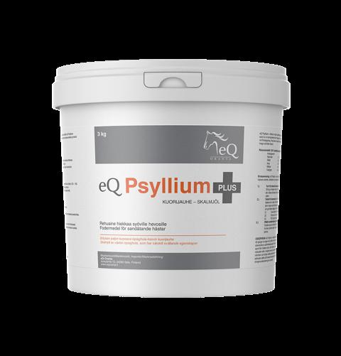EQ Psyllium семена подорожника. для удаления из ЖКТ лошади песка и мелкого мусора. 900 гр