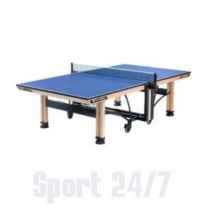 Теннисный стол профессиональный Cornilleau Competition 850 Wood ITTF blue 118600