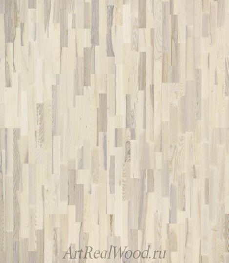 Плинтус Ash Lacquered White (Ясень Белый Лак)