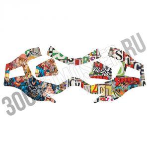 Наклейка MaSkin для V-Force Grill - Superman