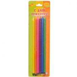 Свечи карандаши 15 см 12 шт