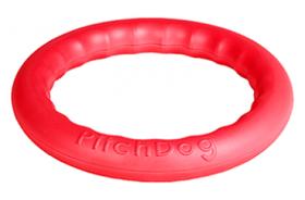 PitchDog 20 Игровое кольцо для апортировки розовое (20 см)
