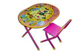 """Набор мебели """"Дэми"""" Овал №у3-01- """"Цирк"""" розовый"""