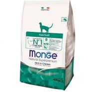 Monge Cat Hairball Корм для кошек для выведения комков шерсти (400 г)