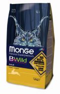 Monge Bwild Cat Hare Корм для взрослых кошек с мясом зайца (1,5 кг)
