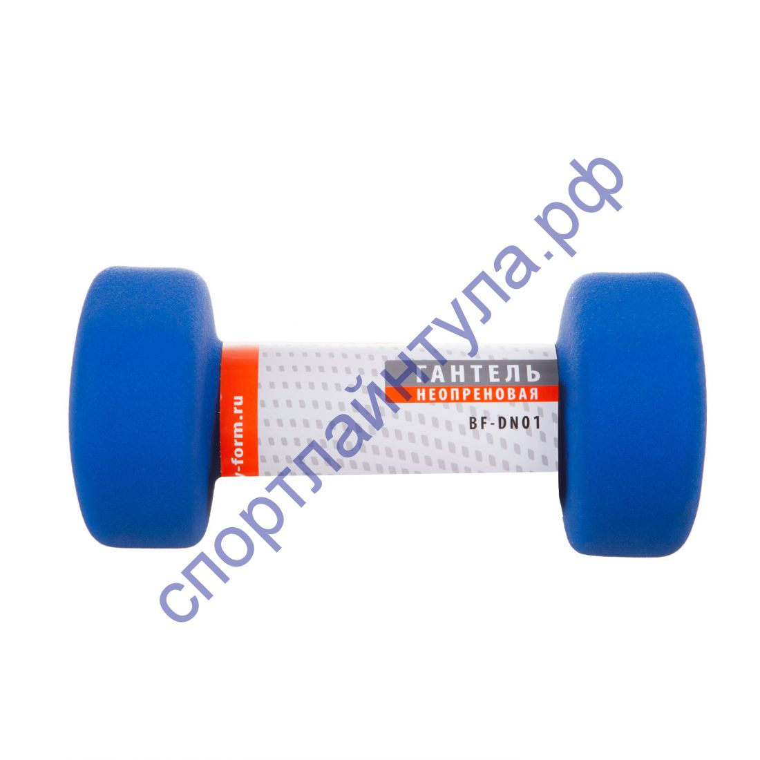 Гантель неопреновая BF-DN01 (1 шт) 3 кг синяя