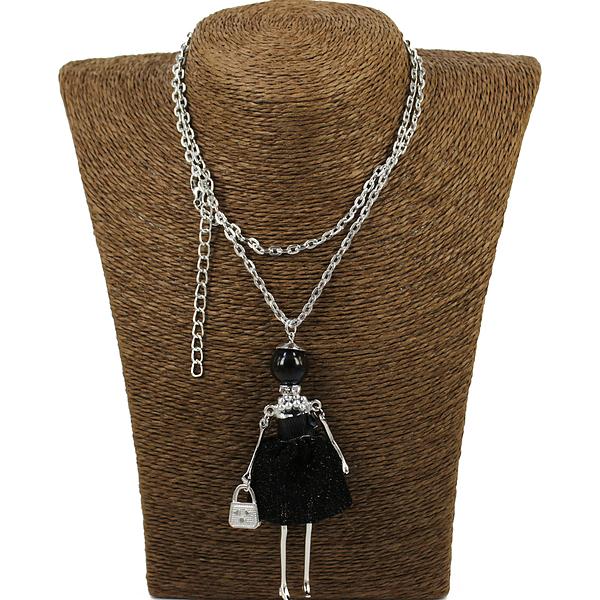 """Колье Fashion Jewelry hk-0974. Колье под серебро """"Леди"""""""
