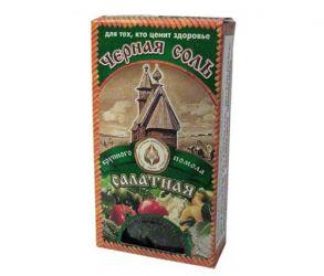 """Черная соль четверговая """"салатная"""",100гр"""