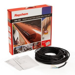 Греющий кабель для систем антиобледенения кровли и водостоков Raychem GM-2CW  25м