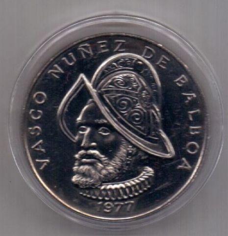 1 бальбоа 1977 г. редкий тип. UNC. Панама