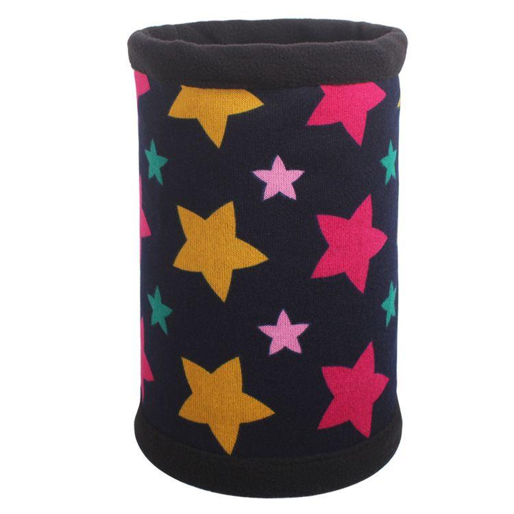 Шапка шарф со звездами