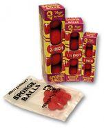 """2"""" Super Soft Sponge Ball (красные) в коробке 4 шт от Goshman"""