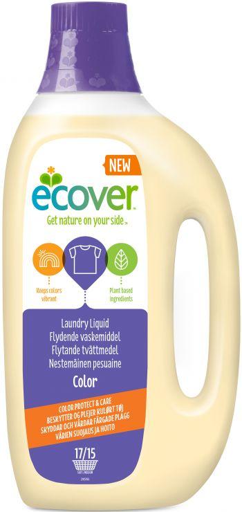 Ecover жидкость для стирки колор 1,5 л