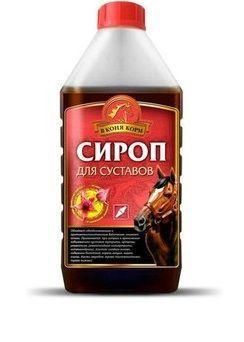 """Сироп для суставов с сабельником"""" В коня корм"""" 1 литр"""