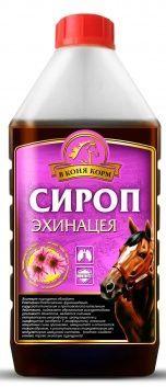 """Сироп Эхинацея """"В коня корм"""" 1 литр"""